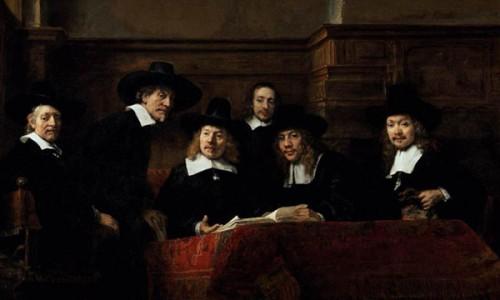 Rembrandt schilderde al gilden!